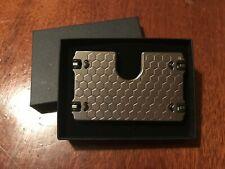 Titanium Wallet & Credit Card Holder, RFID Blocking. CNC Machined, present gift