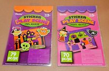Halloween Sticker Play Scenes By Darice 3+ Party Ghouls Owl Manor 149pc 45Y