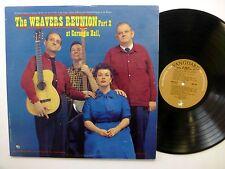 WEAVERS Reunion Part 2 LP At Carnegie Hall VANGUARD Mono NEAR-MINT vinyl  sm1426