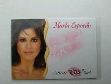BENCHWARMER MODEL ACTUAL KISS TRADING CARD MARLA ESPOSITO