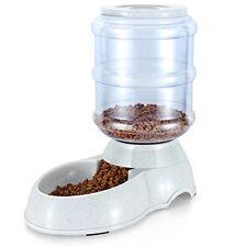 Pet Food Feeder Plastic 11.35L Cat Puppy Dog Auto Replenish Dish Bowl