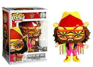 "WWE MACHO MAN RANDY SAVAGE 3.75"" POP VINYL FIGURE FUNKO BRAND NEW 79 UK SELLER"