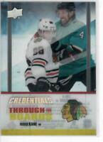 19/20 UD CREDENTIALS ACETATE THROUGH BOARDS PATRICK KANE #TTB-4