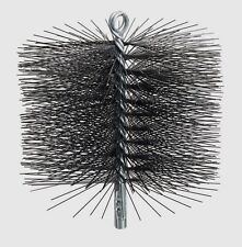 "New 16408 RUTLAND 8"" Round Stiff Spring Wire Chimney Sweep Cleaning Brush Black"