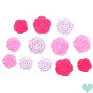 Dress it Up Stop And Smell The Roses 9377 - Valentines Embellishments