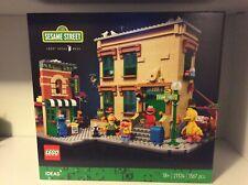 LEGO IDEAS sesame street 21324 nuovo senza minifigures