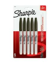 Sharpie Permanent Fine-Point Black Markers, $17.97, Pack Of 5, 3 Pack