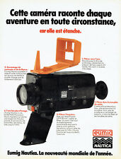 Publicité advertising 127 1979 eumig nautica waterproof camera world novelty