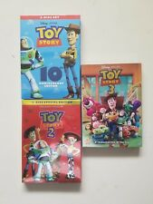 Toy Story 1-3 Trilogy Movies DVD Free Shipping USA 1 2 3