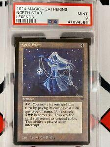 North Star Graded PSA 9 Mint Legends Magic: the Gathering