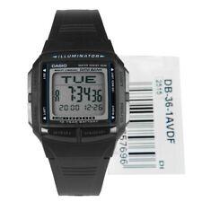 Casio Date Bank Watch, DB36-1AV, Telememo, Duel Time, Stopwatch/Timer, Alarm