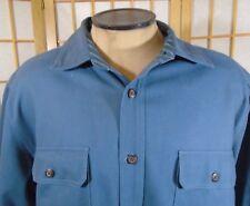 Vintage Levi XL Heavy Blue Work Shirt