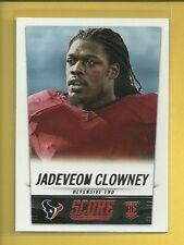 Jadeveon Clowney RC 2014 Score ROOKIE CARD # 374 Houston Texans Football NFL