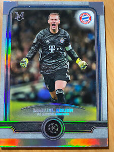 MANUEL NEUER 2019-20 Topps Museum Collection  CARD #43