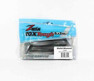 Zman Soft Lure Diezel MinnowZ 5 Inch 4 per pack Smelt (0214)