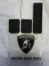 Lamborghini Countach Miura pedal rubber covers pads set - brake, clutch, gas NOS