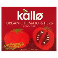 Kallo Tomate & Herb Stock cubes-BIO - 66 g - 76191