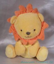"2013 Prestige Fisher Price Velvet Plush 7"" Golden Yellow Baby Lion Cub Sewn Eyes"