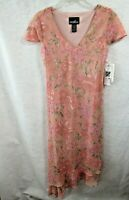 New Womens  Positive Attitude Floral Dress Size 8