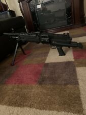 "Cybergun FN Licensed M249 Para ""Featherweight"" Airsoft Machine Gun"