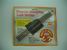 HO TRACK  UNCOUPLING TRACK SECTION NICKEL SILVER NO. # 19004 MATE-A-MATIC