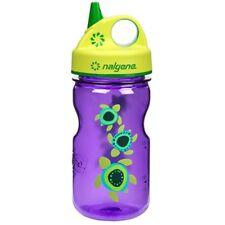 Nalgene Tritan Grip 'n Gulp Water Bottle - 12 oz. - Purple Sea Turtles/Green
