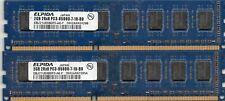 4GB (2X 2GB)  DDR3 1066 PC3-8500  Desktop Computer Memory PC Ram