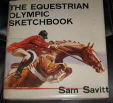 Sam SAVITT Equestrian Olympic Sketchbook Mexican Games 1968 US Gold GP SIGNED