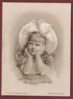 Athlophoros Cures Rheumatism Patent Medicine Booklet ~ Winged Statue Blonde Girl