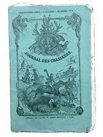 Rare Journal des Chasseurs 1858 Diane de Breho Chasse à Bade Allemagne