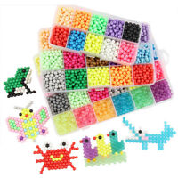 1Set DIY Puzzle Water Magic Aqua Bead Spray Mist Bean Education Parent-child Toy