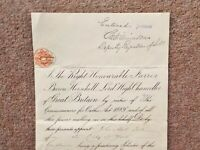 1892 City of York Solicitor John Abel Isle appointment as Commissioner of Oaths