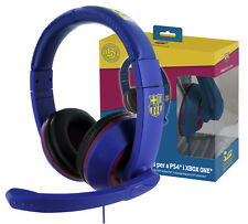 Subsonic Official Barcelona Stereo Gaming Headset For PS4 & Xbox One