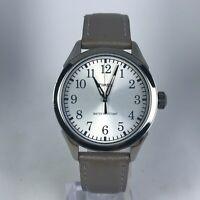 Timex Womens TW2P99400 Stainless Steel Leather Strap Analog Quartz Wristwatch