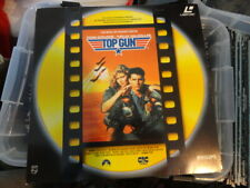 'Top Gun' 1990 Dutch Edition Laser Disc -PAL-