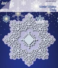Joy Crafts - Cutting & Embossing Die - Winter Wishes Doily 6002/0536 Noor Design