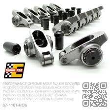 "ENGINE PRO CHROME MOLY 7/16"" ROLLER ROCKERS 6 CYL [HOLDEN VB-VC-VH-VK COMMODORE]"
