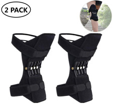 2X Knee Brace Lift Booster Joint Support Leg Pad Sport Spring Force Pain Relief