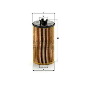 MANN-FILTER HU 612/2 x - Ölfilter