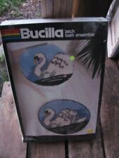 bucilla latch bath ensemble kit 13220-new in package-SWANS