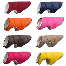 Warm Winter Dog Clothes Reflective Clothing Vest Fleece Pet Jacket Dogs Coat