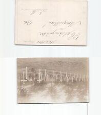 (c702) foto-postal Marquilles soldatenfriedhof 1915, sin utilizar