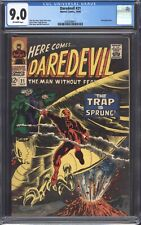 DAREDEVIL #21 (1966) CGC 9.0 VF/NM / Stan Lee / Owl appearance!