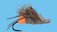 1 Preparation H Mouse Fly Brown with egg at back Size 1 Trout Bass Pike Muskie