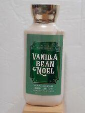 Bath and Body works  VANILLA BEAN NOEL Body Lotion Cream Shea 8 oz NEW Gift