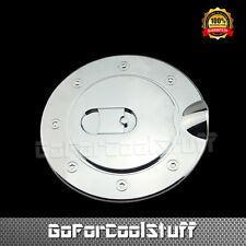 For Dodge Ram 2500/3500 2003-09 + 1500 02-08 Chrome Gas Tank Fuel Door Cap Cover