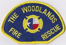 The Woodlands Fire Rescue Texas Fire Patch  NEW !!
