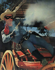 Clayton Moore - The Lone Ranger - 8 1/2 X 11