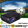 Multimedia HD WiFi Android 7.0 Bluetooth 3D LED Home Cinema Projector 7000Lumens