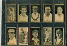 D.C.THOMSON & CO.: 1926 The World's Best Cricketers, [green back] complete set